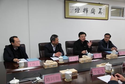 市委常委、组织部部长刘运到市中心医院调研