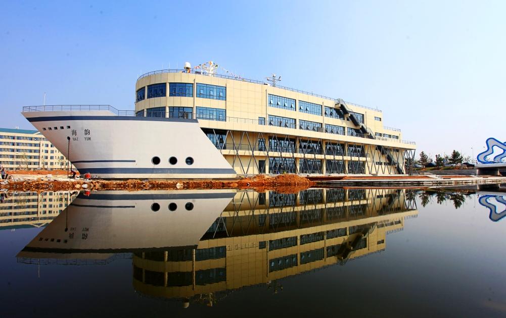 山东交通学院新校区内船型实验楼.-高区两所新建 扩建的学校正式投图片