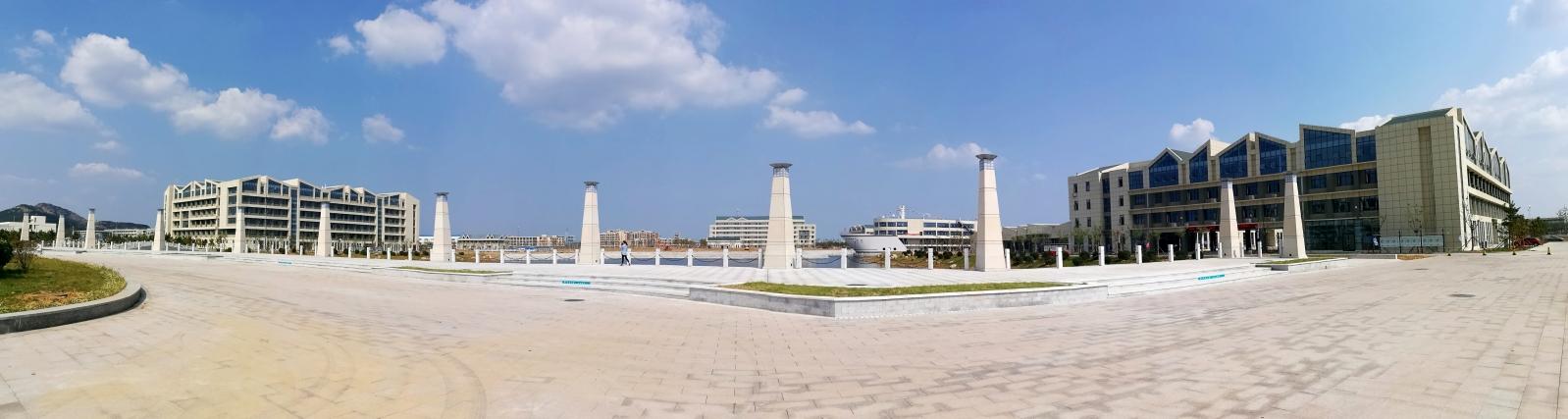 山东交通学院威海新校区正式启用图片
